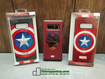 Ốp chống sốc Marvel Galaxy Note 8 (Captain)